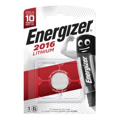 Energizer Lítiová gombíková batéria CR 2016