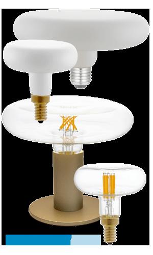 Žiarovky moderné DASH