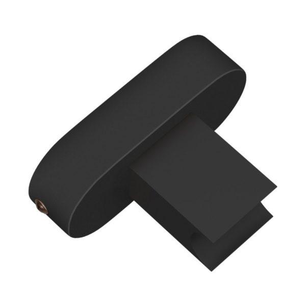 Objímka S14d pre výrobu nástenného svietidla, čierna farba