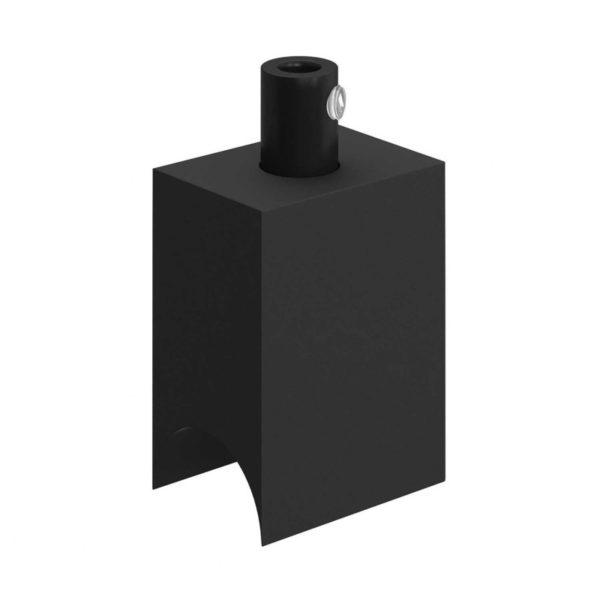 Objímka S14d pre výrobu závesného svietidla, čierna farba