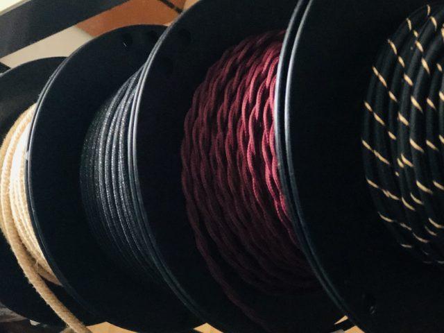 Textilné káble pre Vaše osvetlenie