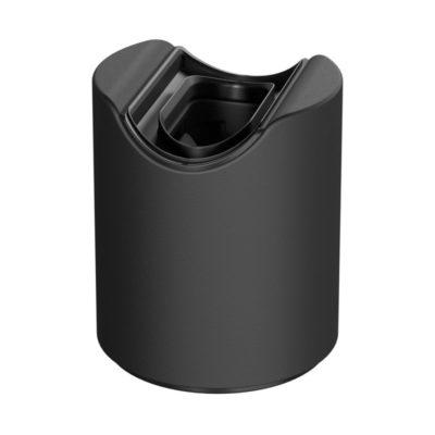 Vodeodolná objímka S14d pre výrobu nástenného svietidla IP44, čierna farba