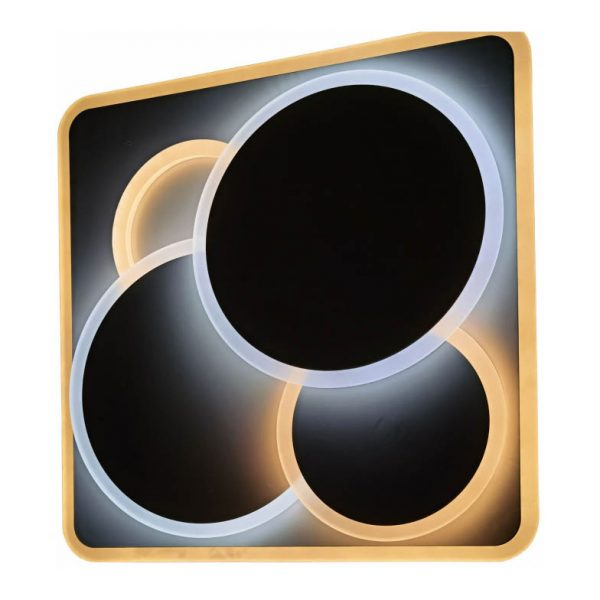 LED stropné svietidlo Design Brees, 125W, RF ovládanie, 8750lm