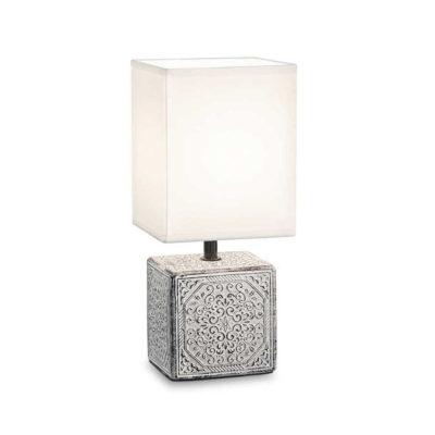 Stolná keramická lampa s tienidlom KALI-1 TL1
