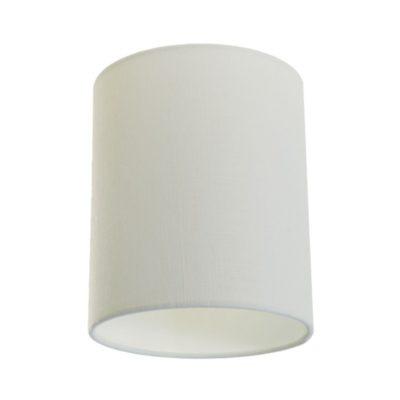 Tienidlo na lampu v bielej farbe s priemerom 15cm