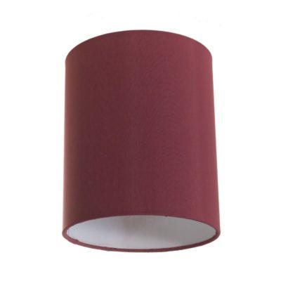Tienidlo na lampu v bordovej farbe s priemerom 15cm